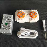 NEW Bluetooth Remote Control 4 channels Lithium Battery Box Building Blocks Compatible logoes Technic Sbrick Buwizz Parts
