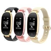 S3 Fashion Smart Band Girl Women IP67 Smart Bracelet Heart Rate Monitor Wrist Lady Female Fitness Tracker Wristband PK X6 A1 M3