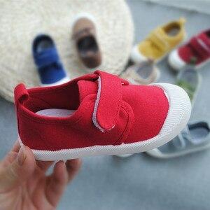 Image 3 - ฤดูใบไม้ผลิฤดูใบไม้ร่วง 2020 เด็กใหม่น้ำล้างผ้าใบรองเท้าเด็กชายและเด็กหญิงโรงเรียนรองเท้าSuperนุ่มสบายรองเท้าผ้าใบ