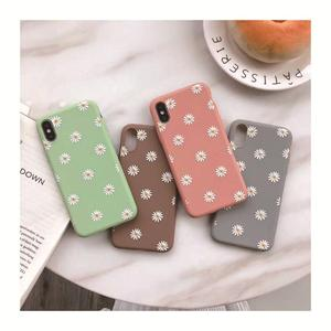 Flower frosted soft shell for