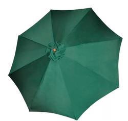 Vidaxl Beach Umbrella Parasol Garden Umbrella Green Patio Umbrella Bases Foundation Sun Shelter Accessories Outdoor Furniture