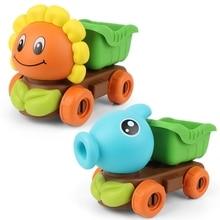 Beach-Toy-Set Play-Tool Water-Spray Sandy Outdoor Children Kids Summer Truck-Set Sunflower