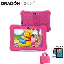 2019 Dragon Touch Y88X Pro 7'' HD Display Kids Tablet for Children 16GB Android 9.0 with Tablet bag Screen Protector tablet PC цена