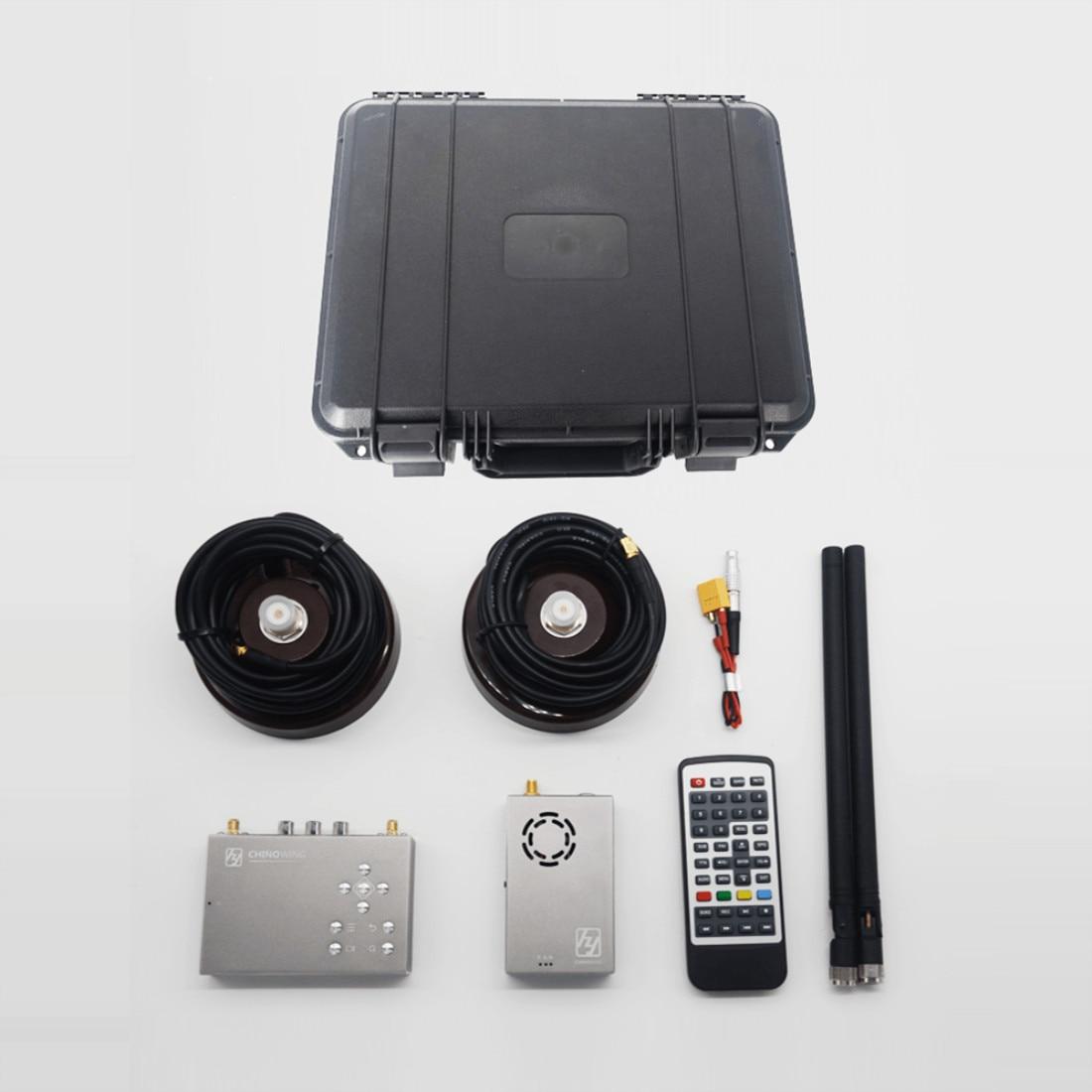 Over 30KM Wireless HDMI image Transmission 100-900Mhz Full HD 1080P COFDM Digital FPV Wireless Video Transmitter 17