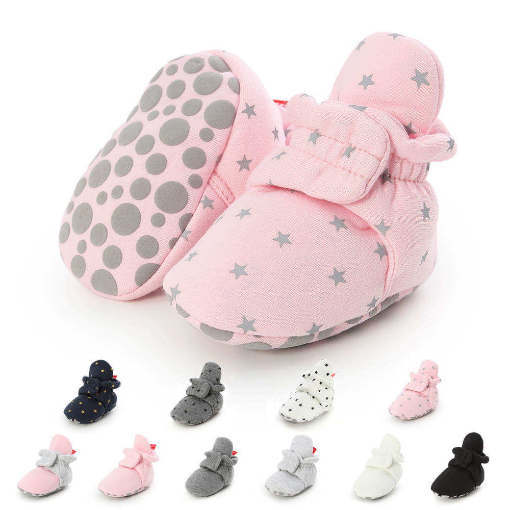 Newborn Shoes Warm Socks Toddler Boots Winter First Walker Baby Girls Boys Soft Sole Snow Booties Unisex Crib Shoes zapatos bebe 4