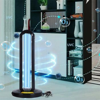 38W UV Three-step Timing Disinfection Lamp With Remote Control 110V/220V Household Ultraviolet Lamps