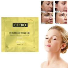 1 Pack Collageen Hyaluronzuur Essentie Serum voor Gezicht Crème Whitening Huidverzorging Anti Aging Lifting Verstevigende Anti Rimpel TSLM1(China)
