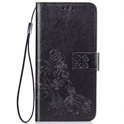 На Алиэкспресс купить чехол для смартфона embossed leaf card flip case for nokia 3.2 4.2 2.2 3.1 plus x6 7 cover pu leather wallet coque for nokia 3 5 6 7 2018 phone case