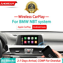 Wireless Apple Carplay Android Auto Modul Für Alle BMW NBT F30 F10 F20 F22 F23 F32 F01 F07 F48 F25 f26 F15 iOS Spiegel-link(China)