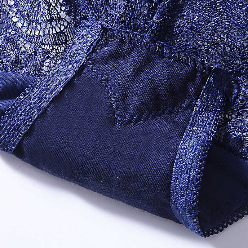 Renda Seksi Pakaian Dalam Wanita High Waist Wanita Celana Dalam Penuh Transparan Celana Wanita Plus Ukuran Pakaian Seamless 00