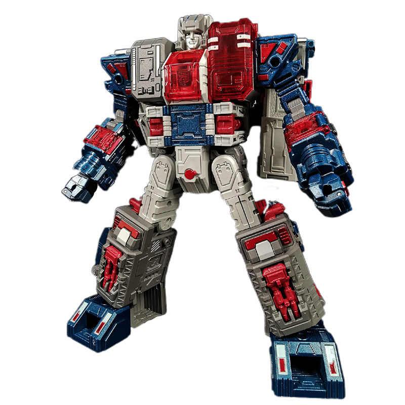 Transformacja Zeta EX09 EX-09 Ford Fortress Maximus metalowe figurki zabawkowe roboty
