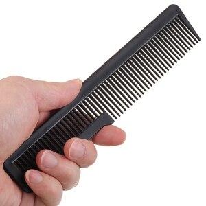 Image 5 - 1 adet profesyonel kuaförlük plastik saç kesme tarağı yeni tasarım dayanıklı Salon saç kırpma tarak kuaförlük aracı DIY ev
