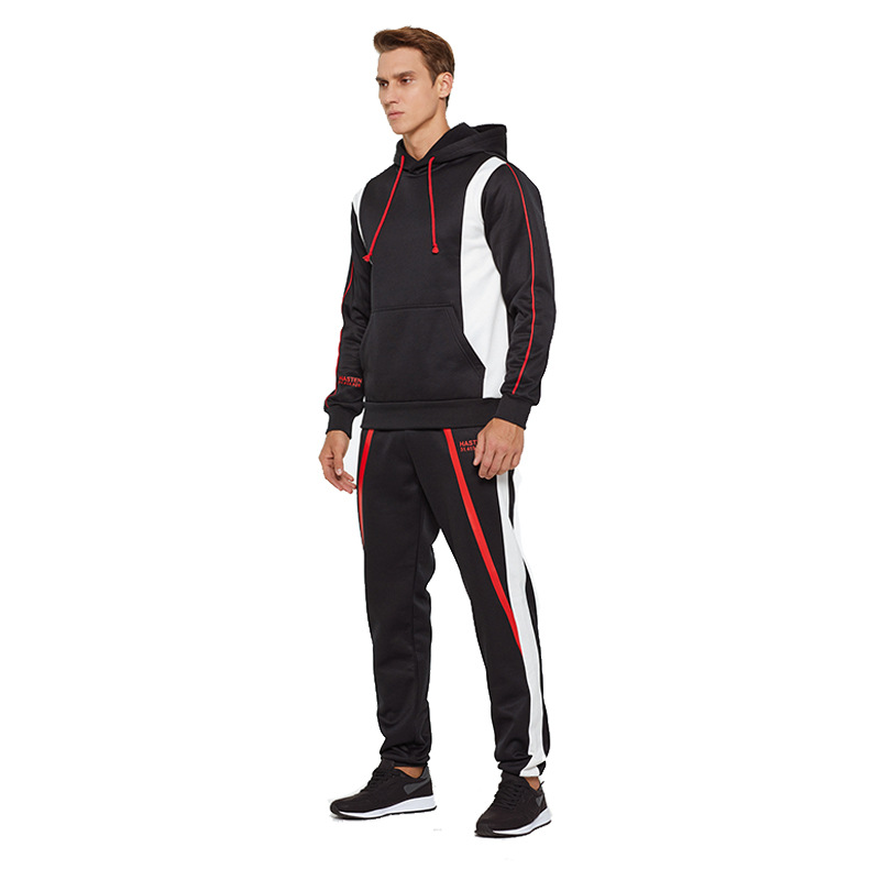 Autumn And Winter New Style Sports Set-Style Printed Design Combat Uniform Uniforms Casual Loose-Fit Pullover Hoody