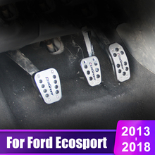 new 3d floor mats for ford ecosport 2014 2015 2016 element carfrd00025k delivery from russia Aluminum alloy Car Accelerator Gas Pedal Brake Pedal Clutch Pedals Covers AT/MT For Ford Ecosport 2013 2014 2015 2016 2017 2018