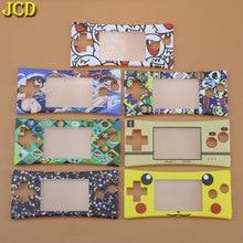 Jcd capa de substituição para gameboy, 1 peça, frontal, placa frontal, carcaça para reparo, micro gbm