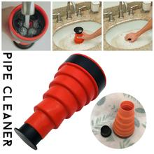 Power Pipe Dredging Tool Drain Sewer Cleaning Kitchen Bathroom Toilet Pipe Dredge Plunger Basin Pipeline Clogged Remover Tool pipeline dredge suction cup plunger