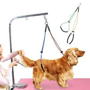 Поводок для груминга кошек и собак, держатель-поводок без сидения, трос из нержавеющей стали для груминга домашних животных