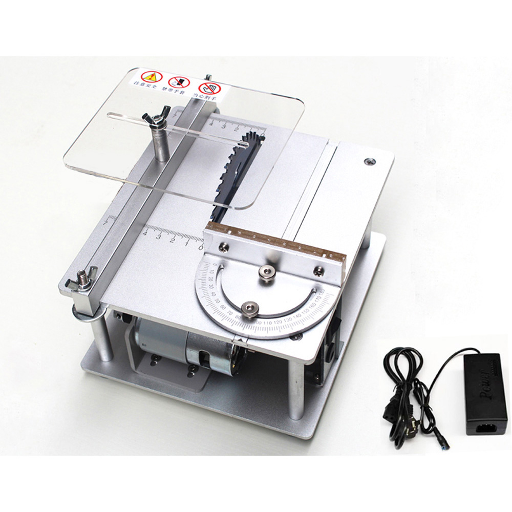 Mini Table Saw Handmade Woodworking Bench Saw Diy Model Crafts Cutting Tool With Power Supply 110mm Circular Saw Blade Electric Saws Aliexpress