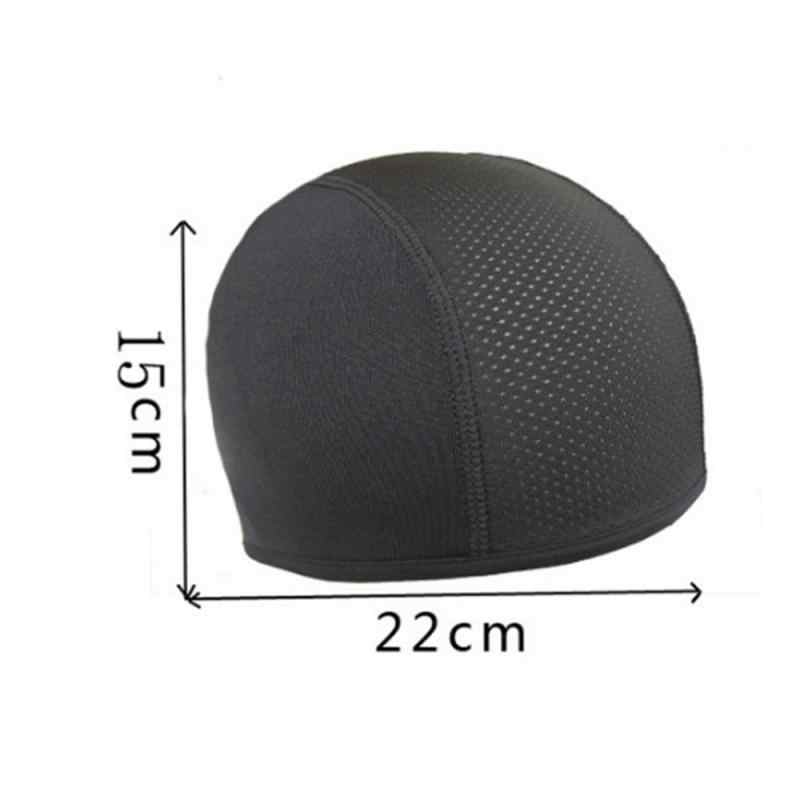 Czapka motocyklowa kask wewnętrzny kask kask kask szybkie suche odprowadzanie wilgoci chłodzenie czapka typu Skull Beanie Dome Moto wewnętrzna czapka opaska