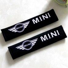 Подходит для BMW Mini внутренняя отделка автомобиля набор мода и индивидуальность креативный ремень безопасности наплечный Коврик защитный чехол