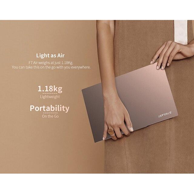 Teclast F7 Air 14'' Ultra Thin Laptop Intel N4120 8GB LPDDR4 256GB SSD Notebook 1920x1080 FHD Windows 10 Computer 180 Rotate pc 5