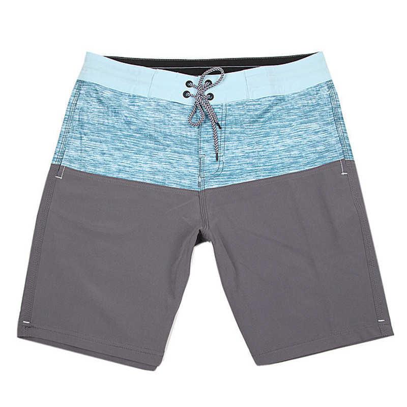 2019 новые высококачественные брендовые водонепроницаемые полосатые шорты для катания на доске быстросохнущие мужские шорты из спандекса мужские пляжные шорты для серфинга