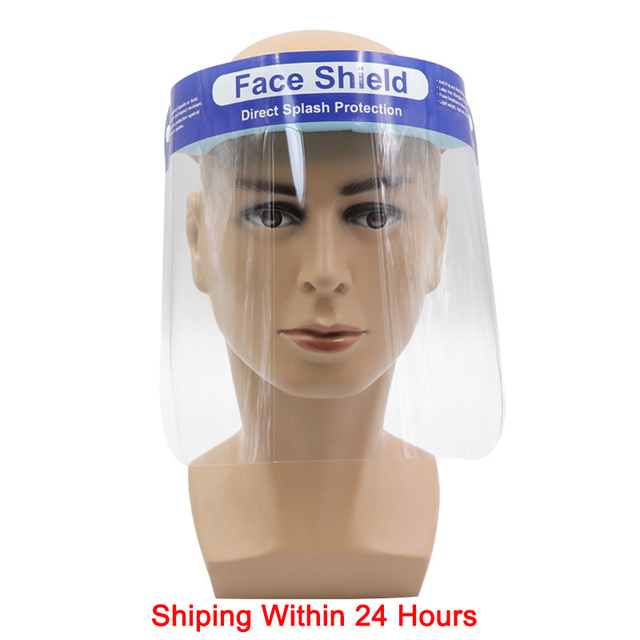 Anti Droplet Face Shield Protection Face Eye Mouth Full Face Covering Clear Mask Dust-proof fog Facial Face Masks Anti saliva