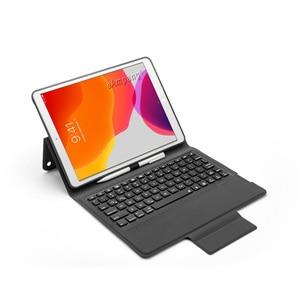 Image 4 - 7 תאורה אחורית מקלדת מקרה עבור Apple iPad 10.2 2019 7 7th 8th Gen דור A2197 A2200 A2198 A2232 מקרה עבור iPad 10.2 מקלדת