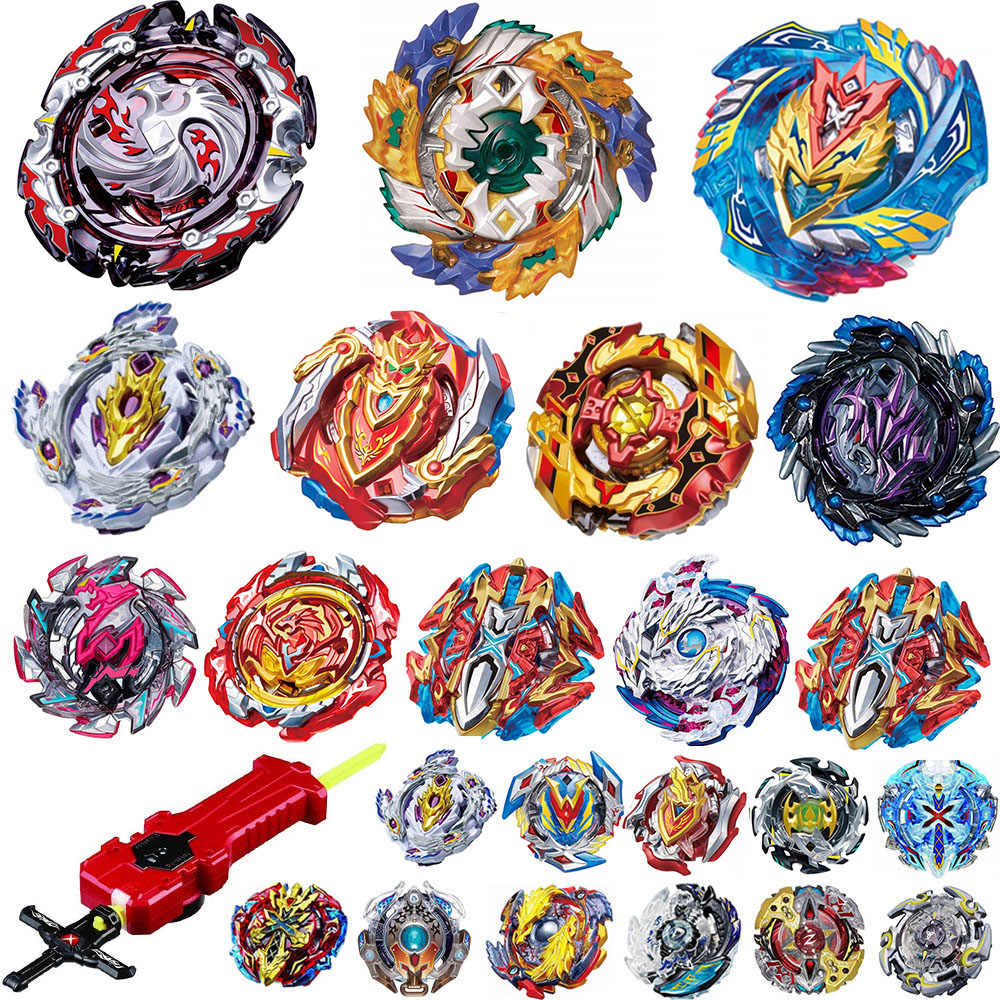 Tops Burst Draagraketten Beyblade GT Speelgoed B-131 Burst bables Toupie Bayblade metal fusion God Spinning Tops Bey Blade Blades Speelgoed