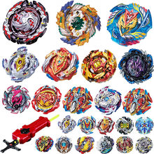 Tops Burst Launchers Beyblade GT Toys B-131 Burst bables Toupie Bayblade metal fusion God Spinning Tops Bey Blade Blades Toy(China)