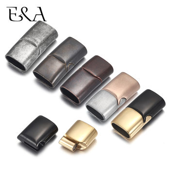 2sets Stainless Steel Magnetic Clasp Hole 10*5mm 12*6mm Gold Leather Cord Clasps Magnet DIY Jewelry Making Bracelet Supplies stainless steel magnetic clasps hole 12 6mm for leather cord bracelet magnet clasp buckle diy jewelry making supplies accessory