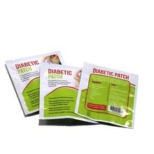 24 pieces=4 bags Natural Herbal Diabetes Plasters Sugar Plaster Diabetic Patch For Lowering Blood