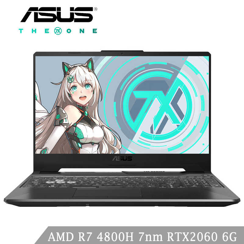 ASUS FA506 Laptop Gaming AMD R7 4800H 6 Core 7nm CPU RTX2060 6G 8G RAM 512G SSD 144 HZ 15.6 Inch Ноутбуки Игровые Notebook
