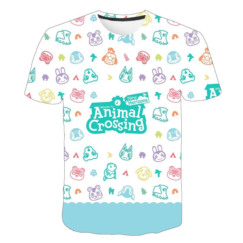 3D Summer Cartoon Game T Shirt Summer Baby Short Sleeves Cartoon Girls /Boy Tshirts Anime 3D Printed T-shirt Kids Tee Tops