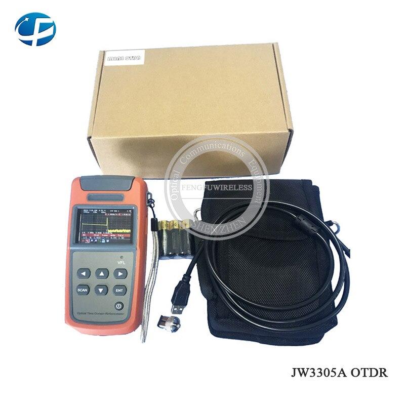 A-80S зеленый/оранжевый автоматическая машина для сращивания оптического волокна - Цвет: JW3305A OTDR