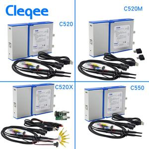Image 3 - Cleqee Android&PC Virtual Digital USB Oscilloscope Handheld can connect  2 Channel Bandwidth 20Mhz/50Mhz sampling data 50M/1G