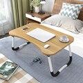 Thuis Vouwen Laptop Bureau voor Bed & Sofa Laptop Bed Lade Tafel Bureau Draagbare Schoot Bureau voor Studie en Lezen bed Top Lade Tafel
