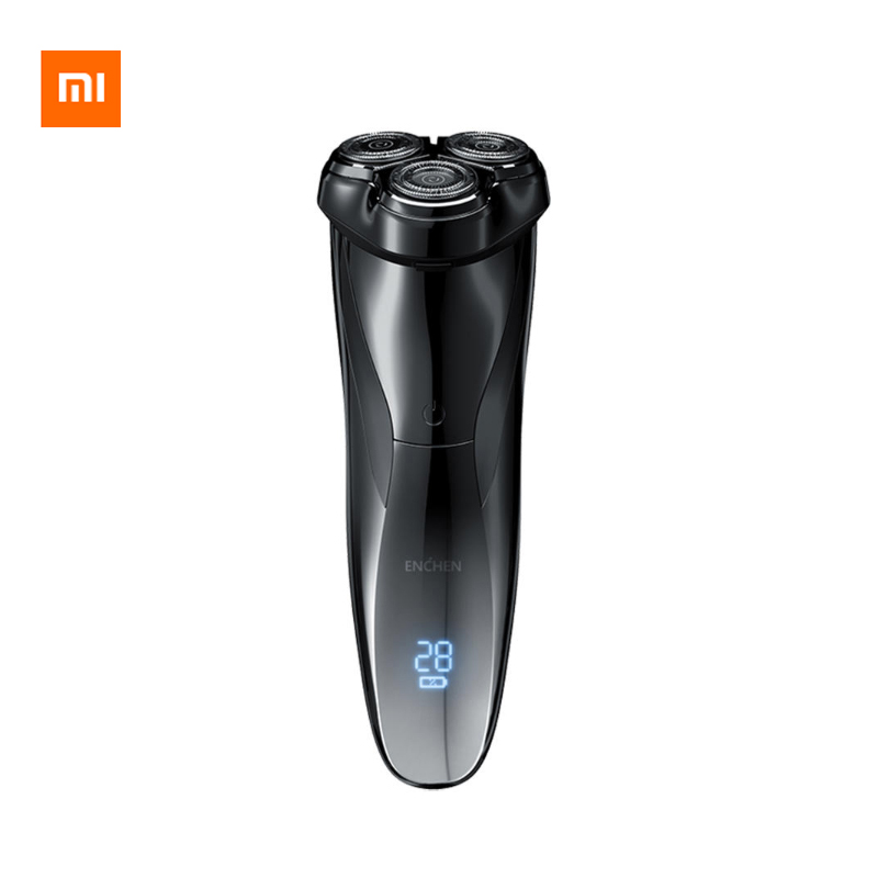 Xiaomi Enchen BlackStone 3 Pro Electric Shaver Razor / Head Cutter Washable IPX7 Waterproof LCD Type-C Rechargeable Charging