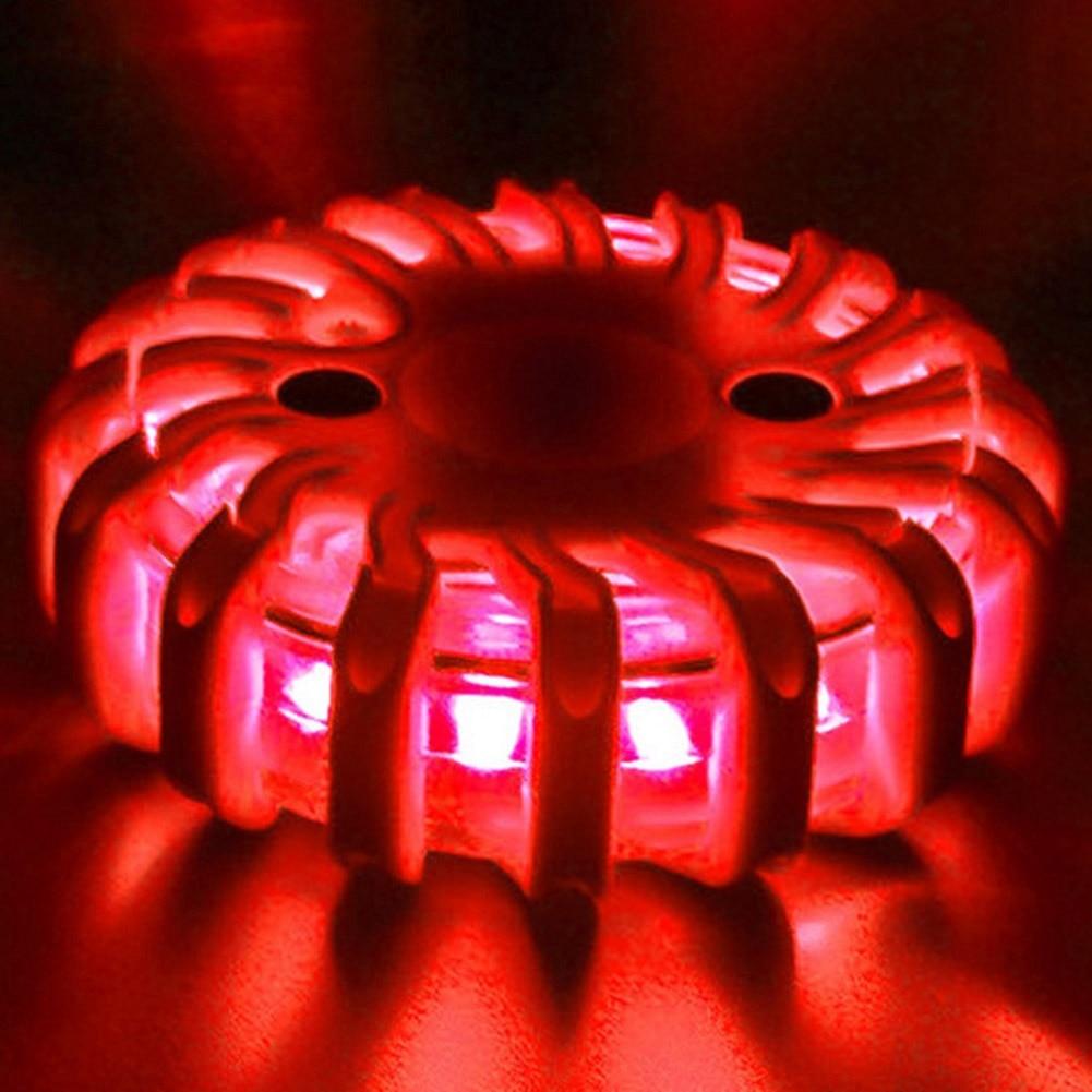 LED Traffic Warning Light Strong Magnetic Safety Road Flare Emergency Lights PR Sale