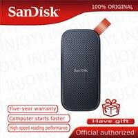 SanDisk Tragbare Externe SSD 1TB 480GB 520M Externe Festplatte SSD USB 3,1 HD SSD Festplatte 2TB Solid State Disk für Laptop