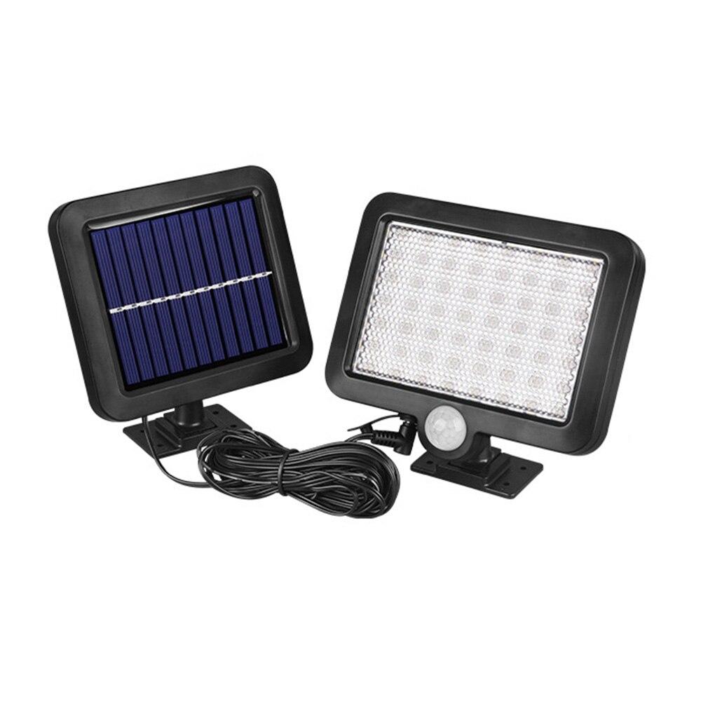 56LED Solar Motion Sensor Wand Licht Im Freien Wasserdichte Garten Lampe Solar Lampe Straße Lampe für Garten Solar Licht