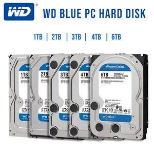 Image 2 - WD Western Digital Blue 1 ТБ 2 ТБ 3 ТБ 4 ТБ Hdd Sata 3,5 внутренний жесткий диск, жесткий диск, диск для ПК