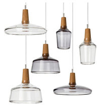 Creative Nordic Dining Room Kitchen Glass Pendant Light Transparent Smoky Glass Lampshade Hanging Lamp Bar Lighting Fixture(China)