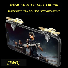 Three keys in one universal mobile game artifact plug-in game controller quick auxiliary keys gamepad physics