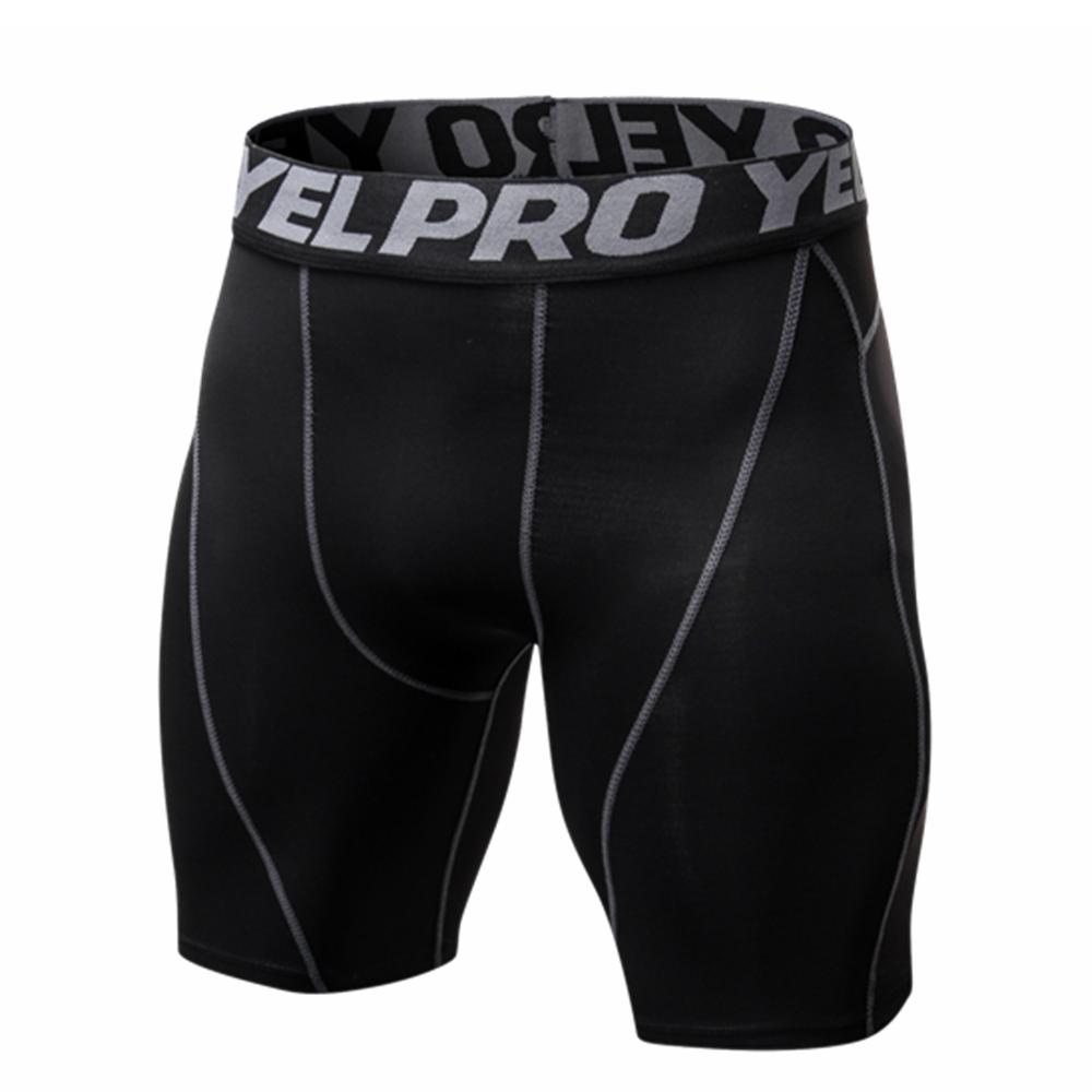 Men Compression Short Running Tights Men's Quick Dry Gym Summer Fitness Sport Leggings Slim Shorts Male Sport Shorts