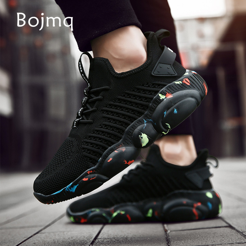Bojmq Tenis Masculino Women Tennis Shoes Tenis Mujer 2019 New Outdoor Sport Shoes Unisex Light Jogging Fitness Women Sneakers