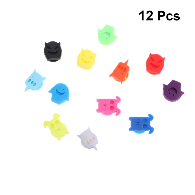 Silicone Wine Glass Marker Party Wine Glass Marker Cute Design Drink Charms Label Mark Glass Identification For Party