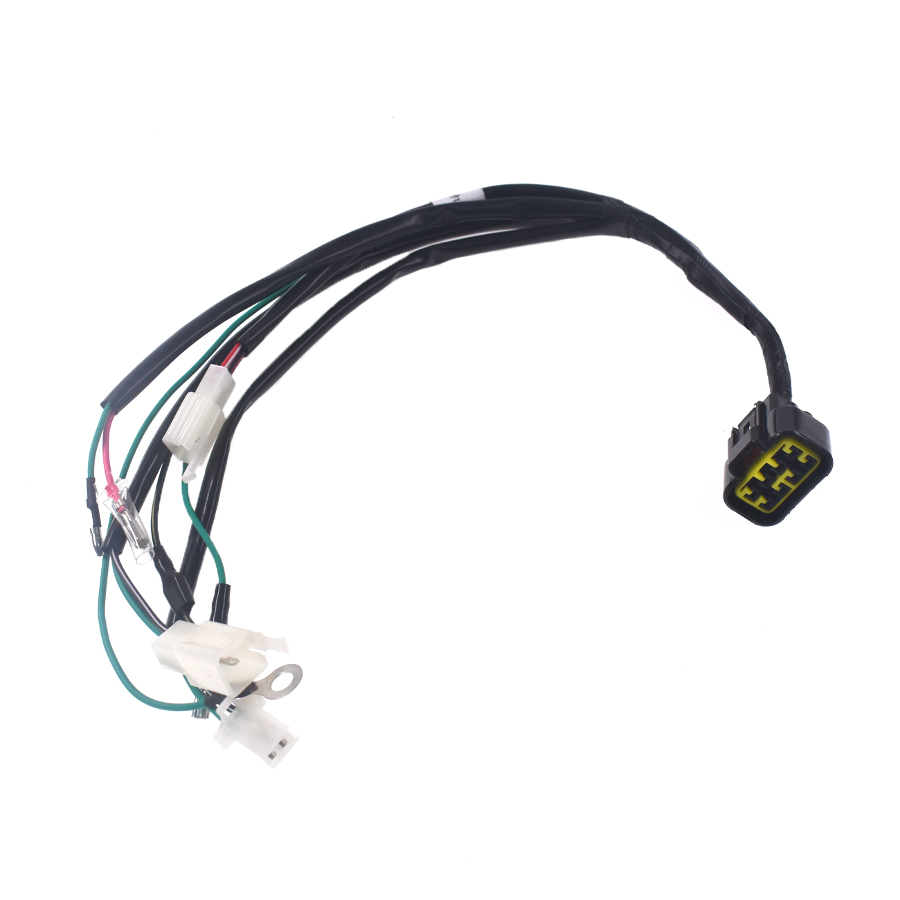 Pouvoir 8 PIN WIRING LOOM HARNESS FOR PIT DIRT BIKE PITBIKE YX ZONGSHEN 125cc High Quality image