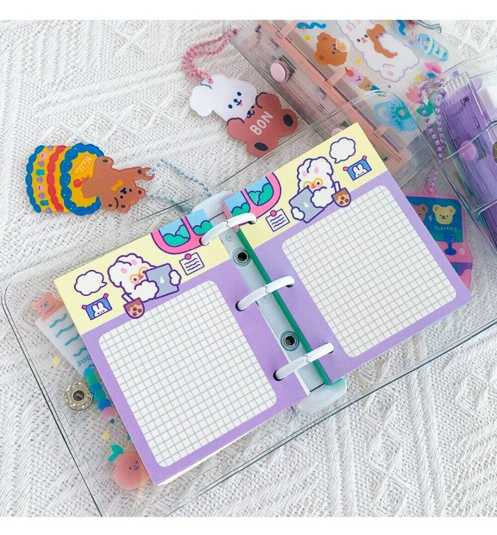 livro diário urso coelho caderno viagem planejador