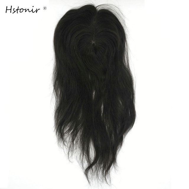 Perruque Toupet naturelle Remy Hstonir | Perruque en dentelle Mono, perruque Toupet, Cheveux humains, TP14, Pour Femmes